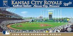 Kansas City Royals Panoramic Stadium Puzzle