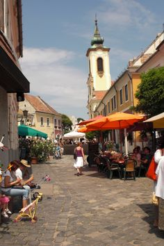 Joseph J Abhar - Szentendre a charming town in Hungary with Mediterranean atmosphere Wonderful Places, Beautiful Places, Places To Travel, Places To Go, Budapest Travel Guide, Budapest Things To Do In, Old Street, European Countries, Central Europe