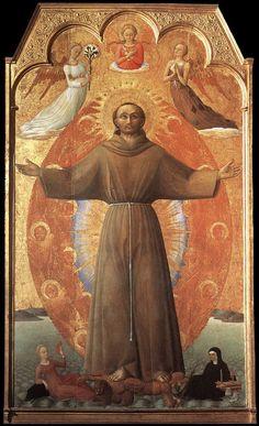Sassetta (Stefano di Giovanni di Consolo) ~ The Ecstasy of St Francis, 1437-44