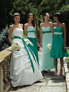 Celtic theme and Irish style wedding dresses by Alfred Angelo...