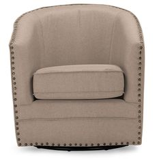 Found it at Wayfair - Baxton Studio Classic Retro Upholstered Barrel Chair