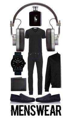 """Menswear Trend: Slipons"" by creation-gallery ❤ liked on Polyvore featuring Master & Dynamic, Bottega Veneta, Paul Smith, Versace, Ralph Lauren, Nixon, Gucci, Topman, men's fashion and menswear"