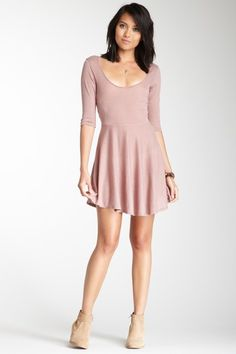 RVCA Confession Dress in Nude. Just got this from HauteLook and it'll soon be mine!