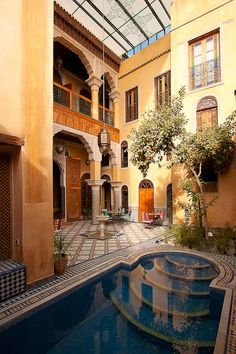Riad layalina, located in the nicest district of the old Medina of Fez, MOROCCO.