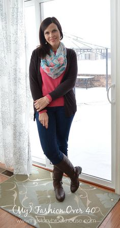 My Fashion Over 40 www.thestonybrookhouse.com #Fashion #ootd #whatiwore #over40