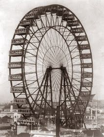 Old Picture of the Day: Chicago Ferris Wheel