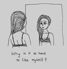 sad teen girl quotes - I find me asking myself this question every time I look in the mirror