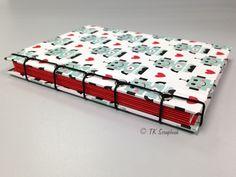 Encadernação japonesa com concertina