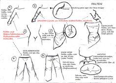 Kleidung und Falten