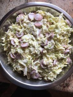 Veggie Recipes, Salad Recipes, Cooking Recipes, Healthy Food Options, Healthy Recipes, Cold Dishes, Hungarian Recipes, Pasta Salad, Potato Salad