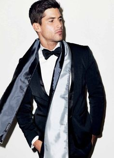 Scarf and tux