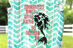 Mermaids Don't Wear Pants... Onesie by LittleMommaBear on Etsy