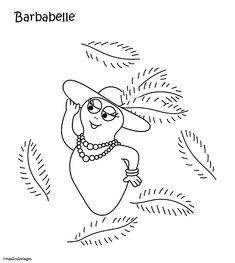 1000 images about barbapapa coloring pages on pinterest - Barbapapa a imprimer ...