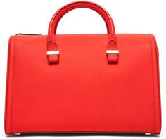 Victoria Beckham Mini Victoria Tote in Sunset on shopstyle.com
