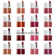 новые помады клиник весна 2015 Clinique Pop Lip Colour  Primer all