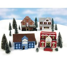 Free Fall Plastic Canvas Patterns | Mary Maxim - Exclusive Plastic Canvas Village