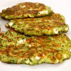 Zucchini-Feta-Puffer | Wildes Geschnetzel