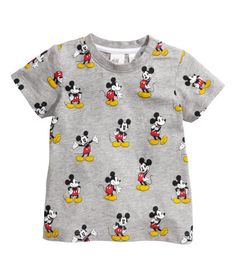 T-shirt with Printed Design H&M Baby Boys