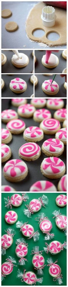 Sugar cookie peppermints