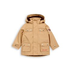 Dog parka in beige - Mini Rodini