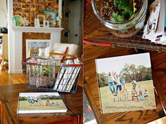 7.12blurb-01 by AshleyAnn**, via Flickr  Fantastic idea from Under the Sycamore for creating yearly family photo books