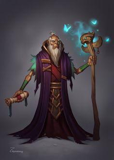 Druid by IHONGKONG on DeviantArt