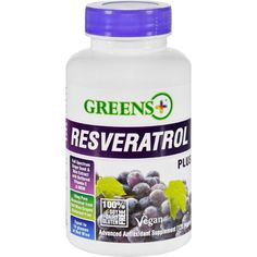 Greens Plus Resveratrol Plus 120 Vegetarian Capsules