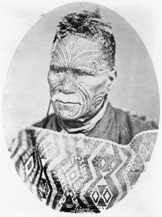 Tāwhiao - Maori King...[Tāwhiao (Tūkāroto Matutaera Pōtatau Te Wherowhero Tāwhiao died 26 August 1894) was leader of the Waikato tribes, the second Māori King and a religious visionary. He was a member of the Ngāti Mahuta iwi (tribe) of Waikato. Keva xo].