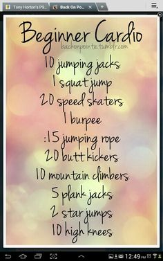 This At-Home Cardio Workout Contains Zero Running Go beyond the treadmill! 4 great cardio workouts for newbies Go beyond the treadmill! 4 great cardio workouts for newbies Reto Fitness, Fitness Diet, Fitness Motivation, Health Fitness, Workout Fitness, Fitness Plan, Body Fitness, Cardio Workout At Home, At Home Workouts