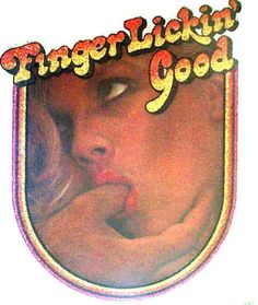FINGER LICKIN' GOOD PORNO VINTAGE T-SHIRT IRON ON PORN 70s SEX LEWD BLOW JOB OOP