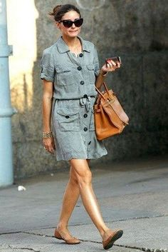 Moda ve Beats: eşyalarını bana verin: Olivia Palermo Casual Dresses, Casual Outfits, Fashion Outfits, Womens Fashion, Dress Outfits, Stil Inspiration, Fashion Inspiration, Safari Dress, Summer Outfits