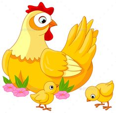Hen and Chicks. Illustration mother hen with its baby chicks , - - Hens And Chicks, Baby Chicks, Beginner Pottery, Inkscape Tutorials, Pot Jardin, Baby Clip Art, Beautiful Flowers Wallpapers, Bird Theme, Drawing For Kids