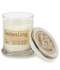 Southern Living Magnolia Soy Candle #Dillards