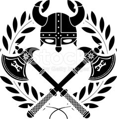 viking glory royalty-free stock vector art