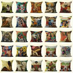 Set of 20 accents home furniture Latino art Mexican cushion covers Mexican Home Decor, Mexican Decorations, Latino Art, Program Design, Home Decor Furniture, Cushion Covers, Home Accessories, Cushions, Throw Pillows