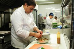 Chef Mario Cassini of Caju in Toronto. Um Chef de Belo Horizonte