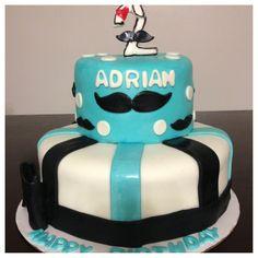 Mustache cake :) daughters cake ideas