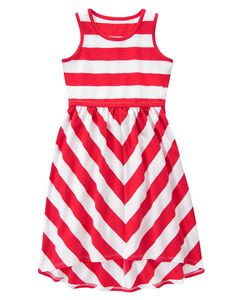 Striped Dress at Gymboree Girls