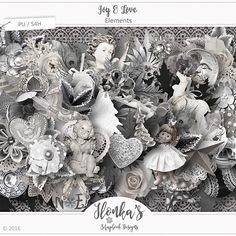 "This wonderful Christmas collection in Grey tones with a touch of Black by Ilonka's Scrapbook Designs is called ""Joy & Love"".  http://www.digiscrapbooking.ch/shop/index.php?main_page=index&manufacturers_id=131&zenid=505e549644797992fb6f20f38872706b  http://www.godigitalscrapbooking.com/shop/index.php?main_page=index&manufacturers_id=123  http://withlovestudio.net/shop/index.php?main_page=index&manufacturers_id=102"