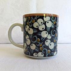 Vintage Arabia Mug Taika pattern Finland by VenerablePastiche