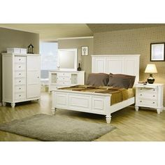 Magnussen Kentwood Panel Bed With Storage In White   Pinterest   Storage,  Bedrooms And King Beds