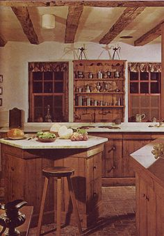 Awesome Early American Kitchens