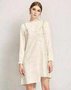 #VIPshop - #ZIMMUR SCARTHIN Apricot Long Sleeve Basic 3/4 Length Standard  Women's