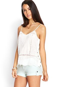 Pintuck Pleated Cami | FOREVER21 - 2000061784