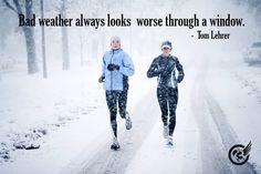 Winter runs are my favorite:)