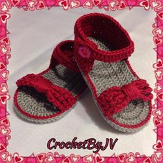 Beautiful baby girl sandals made of cotton yarn. Can be made in any color or size. Please specify size and color when ordering Available sizes: Newborn - length - size 0 months - length - size 1 months - length - size 2 months - length - size 3 months - Baby Girl Sandals, Crochet Baby Sandals, Baby Girl Crochet, Girls Sandals, Baby Girl Shoes, Baby Girls, Baby Flip Flops, Girls Flip Flops, Crochet Baby Blanket Borders