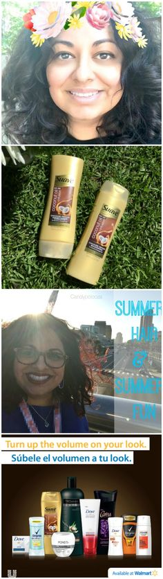 Read this sponsored post about the products I'm using in letting my hair go natural this summer! #100PorCientoYo