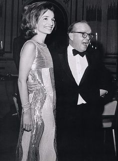 Photo of the Day: Lee Radziwill & Truman Capote at the Black and White Ball, The Plaza Hotel, New York City (November 28, 1966).