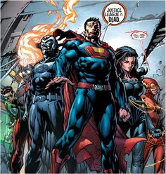 Crime Syndicate by David Finch