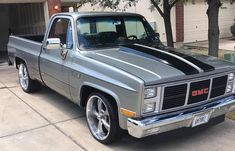 Check out the sweet Tag the owne 87 Chevy Truck, Classic Chevy Trucks, Chevy C10, Chevrolet Trucks, Classic Cars, Trucks Only, Gm Trucks, Square Body, Hot Rod Trucks